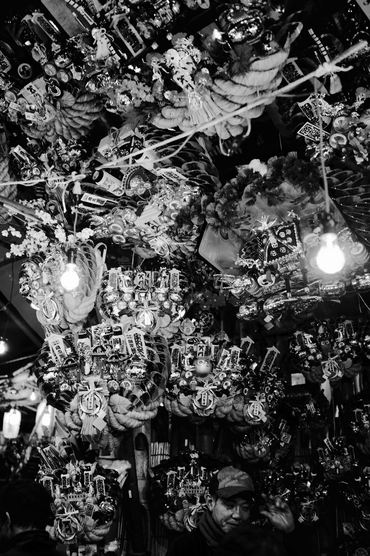 新宿花園神社酉の市2016.11.23